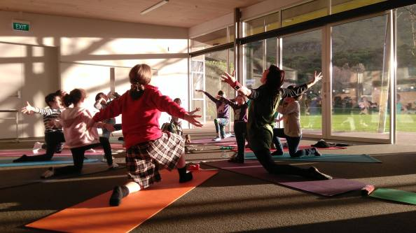 Imagination Yoga at HVCC
