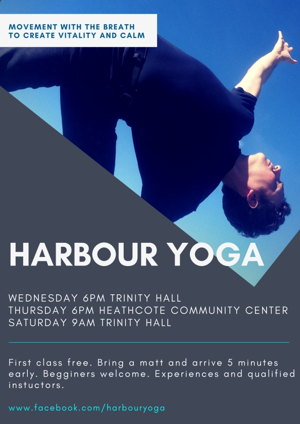Harbour Yoga Poster2018